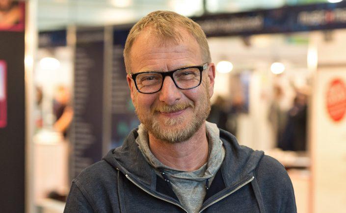 Martin Laurentius wurde auf der jazzahead! mit dem Preis für deutschen Jazzjournalismus ausgezeichnet. (c) Jan Rathke / Messe Bremen
