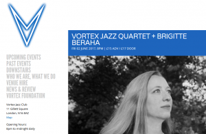 Vortex Jazz Club London