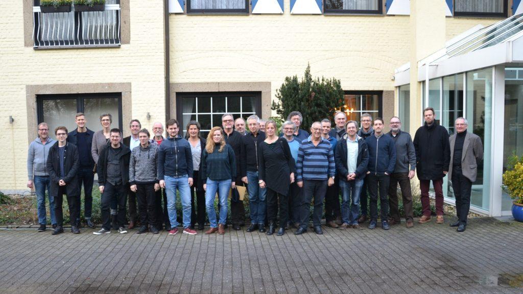 36. Radio Jazz Research-Tagung im Parkhotel Schloss Hohenfeld, Münster, am 03.01.2019