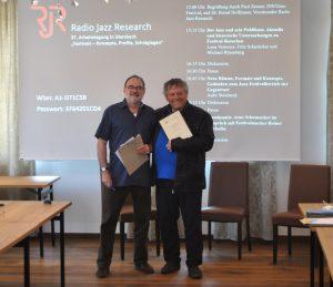 Verleihung der Ehrenmitgliedschaft an Paul Zauner, 2019